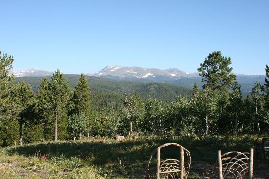 Nederland, CO: The view from just outside the cabin door