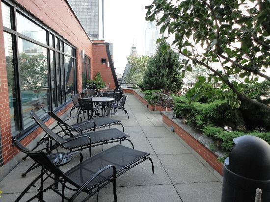 โรงแรมอินเตอร์คอนติเนนตัน มอนทรีออล: terrasse