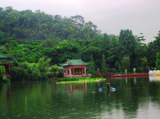 Dongguan, China: Qifeng Park -1