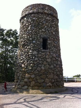 Scargo Tower: Tower on 9/12/11.