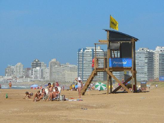 Punta del Este, Uruguay: Playa Brava