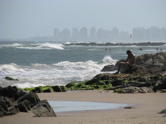 Punta del Este from La Barra