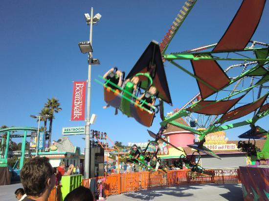 Santa Cruz Beach Boardwalk Superman Ride