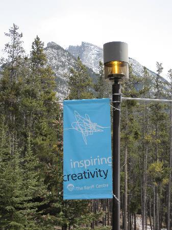 Banff Centre for Arts and Creativity : View on campus