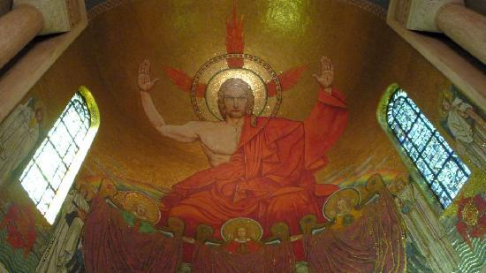 Basilica of the National Shrine of the Immaculate Conception: Christ in Majesty