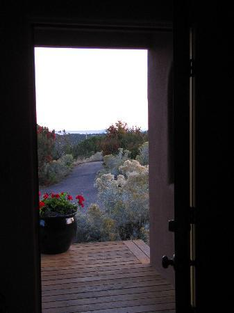 The Bobcat Inn: View from door