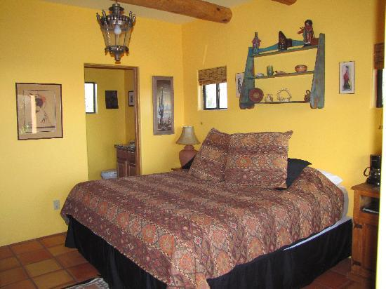 The Bobcat Inn: Kachina room - cozy!
