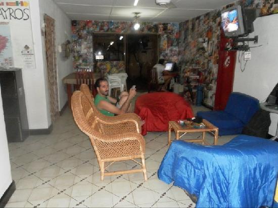 Kayros Vivienda Turistica: La sala de estar