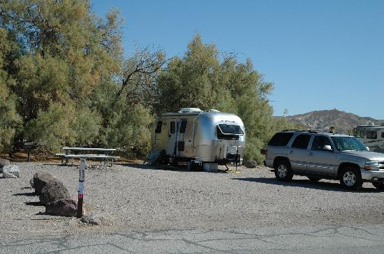 Furnace Creek Resort & Fiddler's Campground: Camping spot