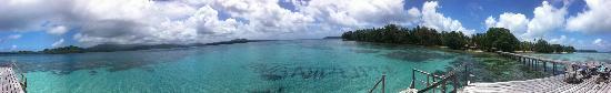 Tavanipupu Island Resort: Views From The Pier