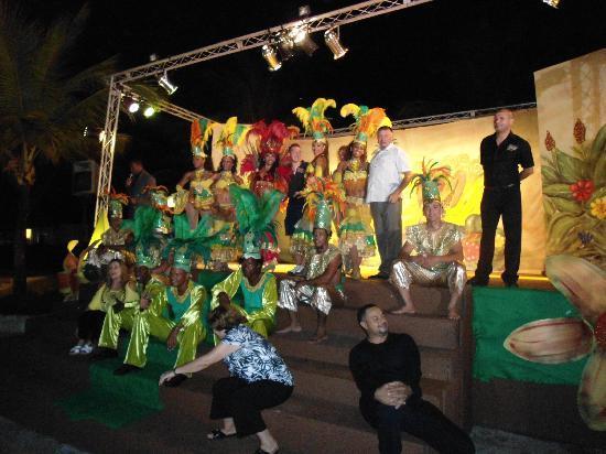 Dreams La Romana Resort & Spa: spettacolo