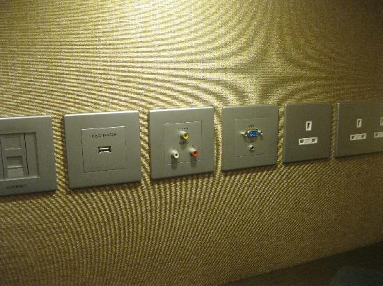 كراون بلازا هونج كونج كوزواي باي: Utilities