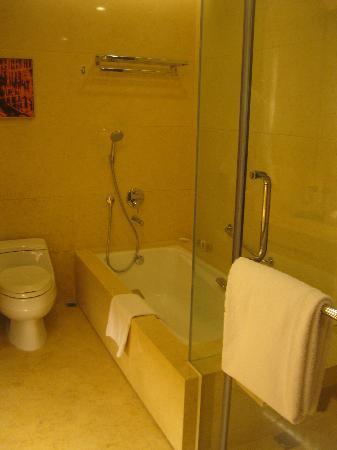 كراون بلازا هونج كونج كوزواي باي: Bathroom