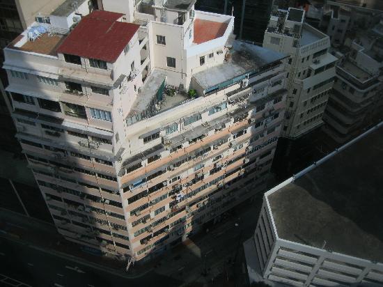 Crowne Plaza Hotel Hong Kong Causeway Bay: City view. Boring.