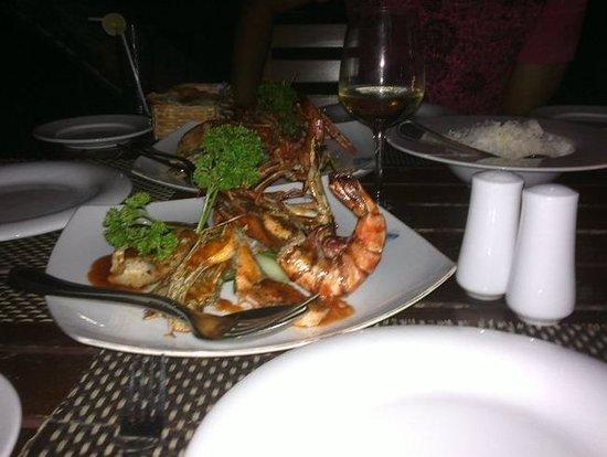 Lavinia Breeze: Seafood platter