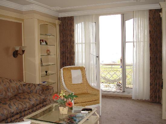 Hotel Strandperle: Wohnzimmer