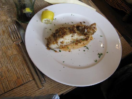 The Yorkshireman: Bistro main course - Coley on paprika mash