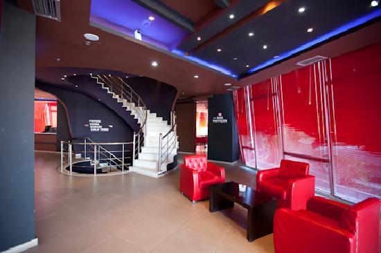 Vila Aeroport: Hotel reception