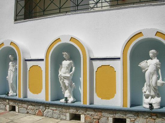 Ionia Hotel Skopelos: entrata