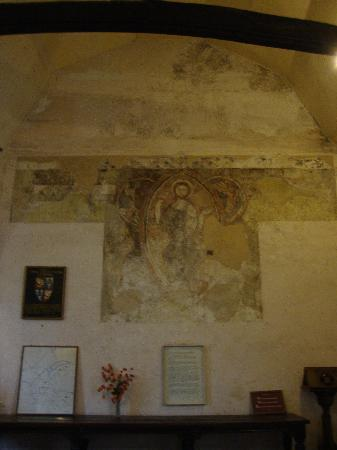 13th century wall painting, Eastbridge Hospital