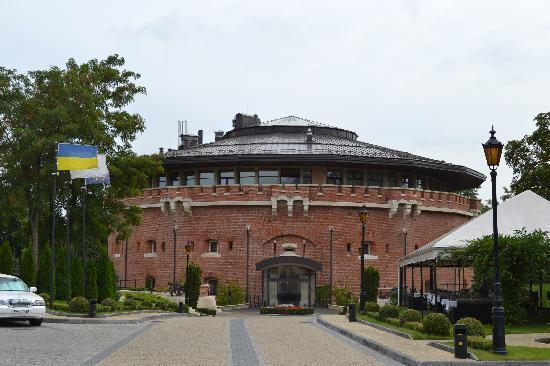 Citadel Inn Hotel & Resort : View of the Citadel Inn