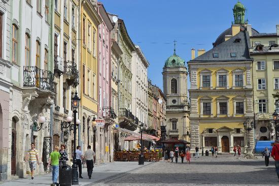 Citadel Inn Hotel & Resort : Lviv's beautiful market square