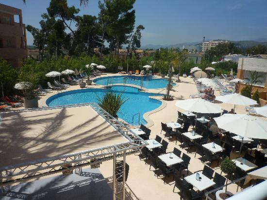 Hotel JS Alcudi-Mar: Blick aus dem Zimmer