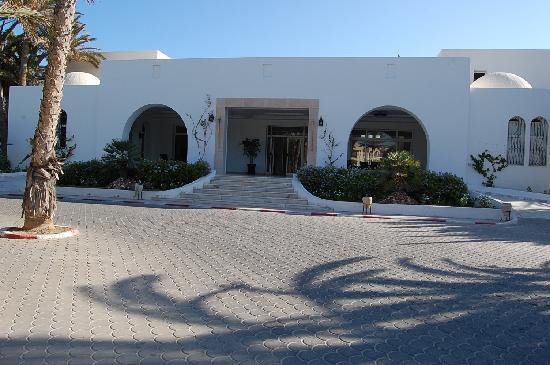 Entr e de l 39 hotel picture of hotel meninx midoun for Entree hotel
