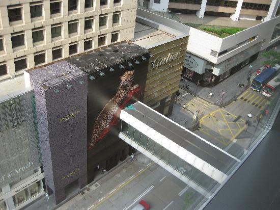 โรงแรมแมนดาริน โอเรียนทอล ฮ่องกง: 窓からは、海と、セントラルの町並みを見渡せます
