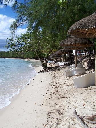 Mont Choisy: La plage