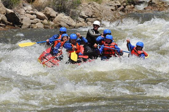 Performance Tours Whitewater Rafting Colorado