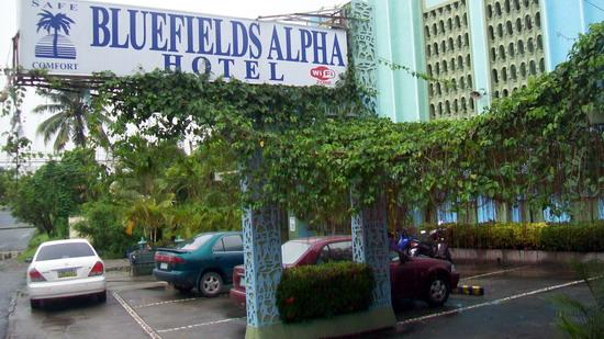 Bluefields Hotel : Easy to find location