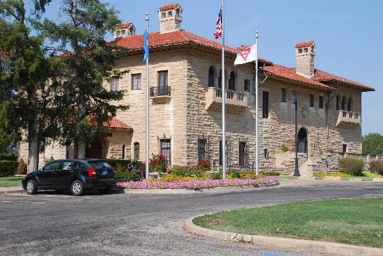 Marland Estate: Rear of Mansion