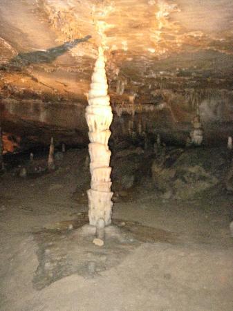 Marengo Cave: inside of cave