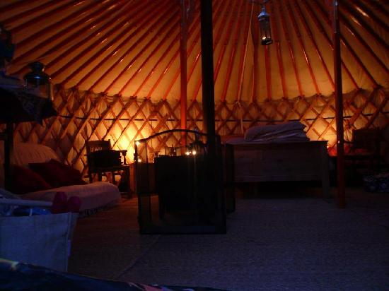 Summerhill Farm: Orchard Yurt