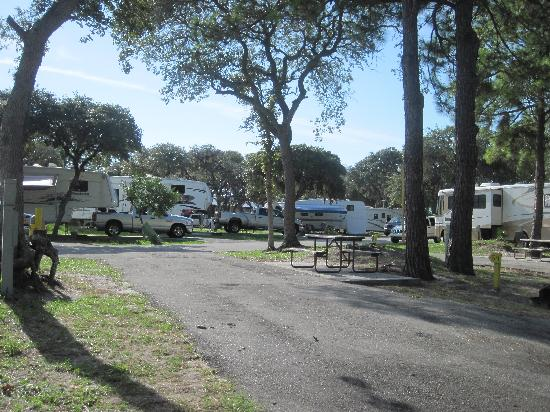 St. Augustine Beach KOA: RV site