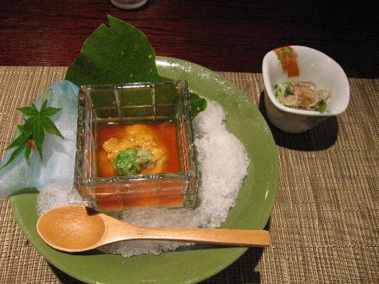 竹取亭円山, 夕食(一部)