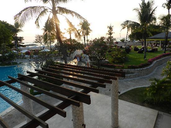 Holiday Inn Resort Baruna Bali : View from the reception
