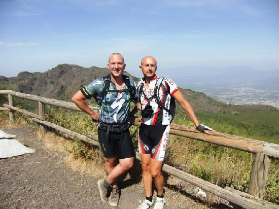 That's Amore Cycling Excursions: Me and Massimo