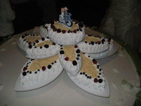 La Caplania : la nostra torta nuziale