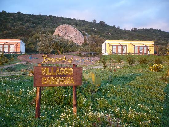 Castiadas, Italia: Benvenuti alla Casa per Ferie VillaggioCarovana