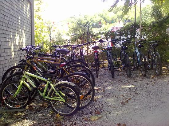 Du Parc Hotel: Deposito bici