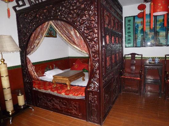 """Pingyao Cheng Jia Hotel : Room in upstairs """"xiulou"""""""