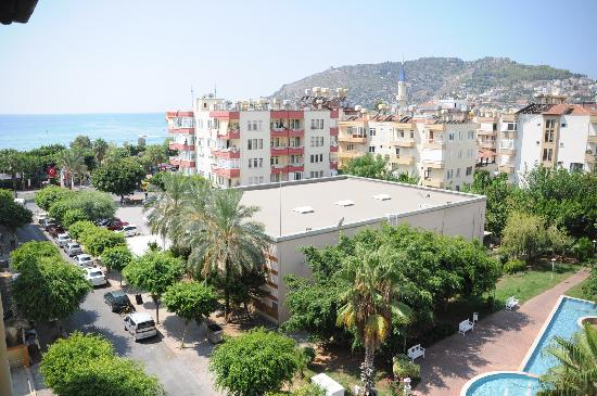 Gunes Suntime Hotel: View from the room on sixth floor