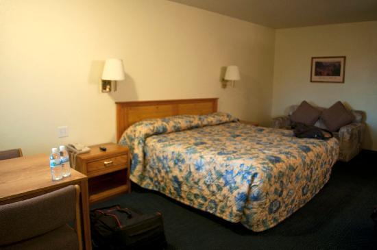 Rodeway Inn: Il king bed