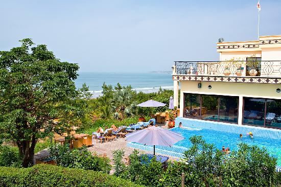 Les Alizes Beach Resort: The Swimming Pool