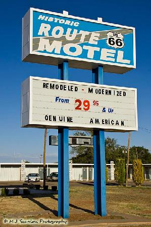 Tucumcari, New Mexiko: Historic Route 66 Motel