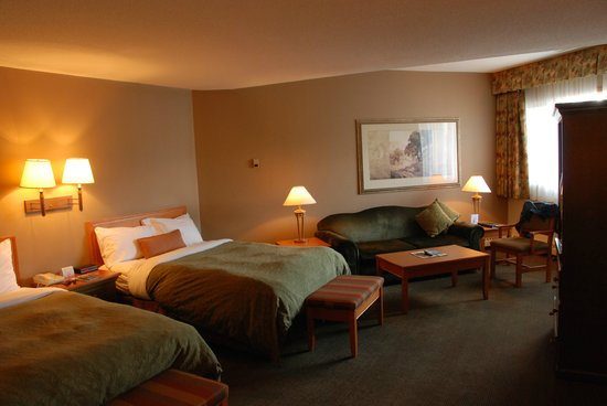 Whistlers Inn : Our room