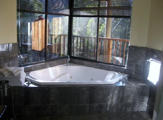 Lemonthyme Wilderness Retreat: spa bath