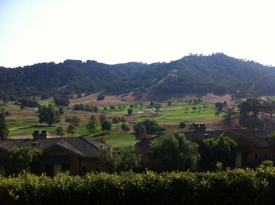 Rosewood CordeValle: view from casita 44